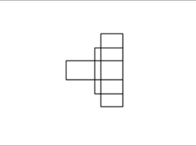 How many four sided shapes does this diagram have?