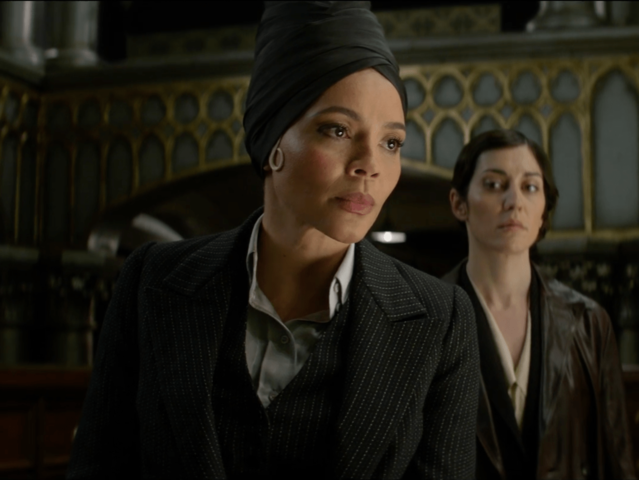 This is Seraphina Picquery, the fabulous president of MACUSA.