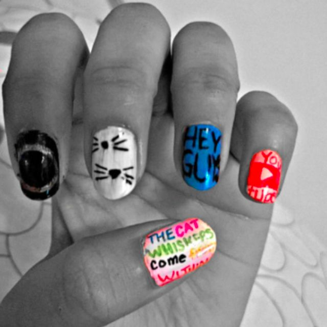 10 Dan And Phil Nail Art Creations That Will Make You Craft With Joy ...