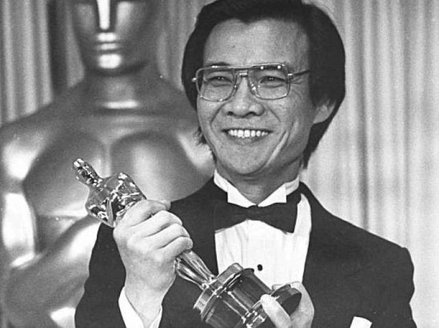 First Asian-American Academy Award winner