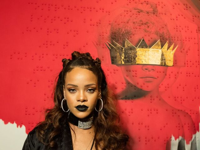 Who is the girl on Anti's album cover?