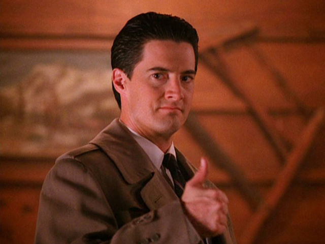 This is the special agent sent by the FBI to investigate the situation in Twin Peaks. What is his name?