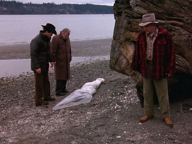 Everything changed for the small town of Twin Peaks when the body of _____ _____ washed up on a riverbank.