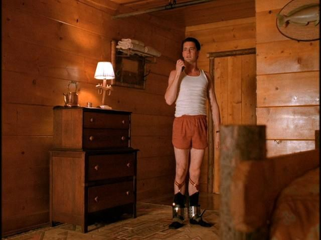 Agent Cooper stays at the Great Northern Hotel in room ___.
