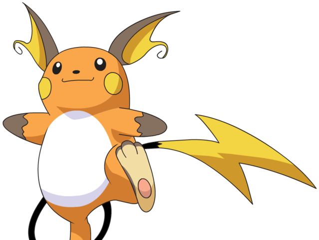 It's Raichu!