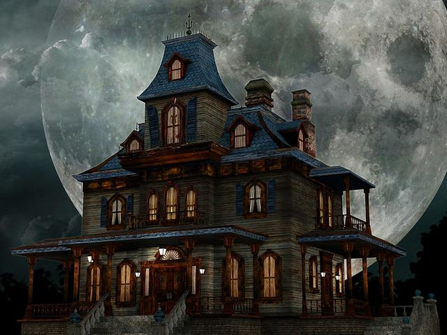 Who made the haunted house an American cultural icon?