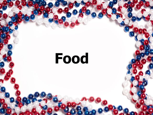 Which of these foods is American?