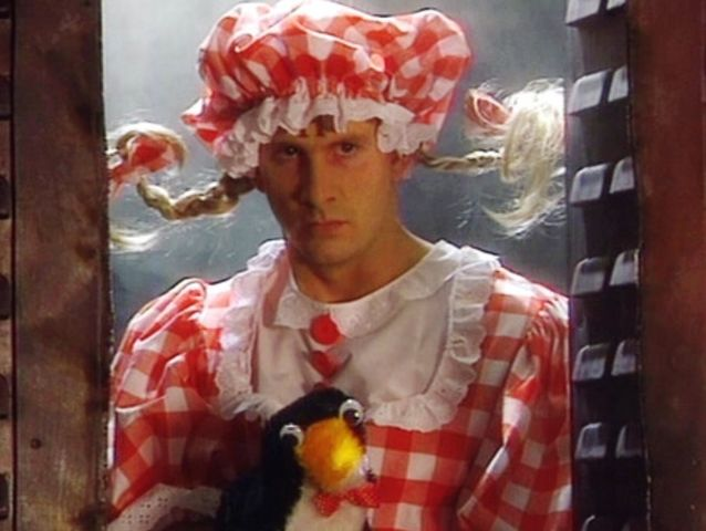 Red Dwarf: What's the name of Rimmer's penguin hand puppet side-kick in Quarantine?