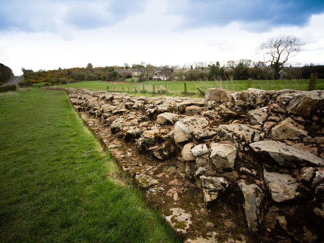 Heddon-on-the-Wall, offers a good view of Hadrian's Wall, but you can also find a non-Roman kiln here. From which era does it date?