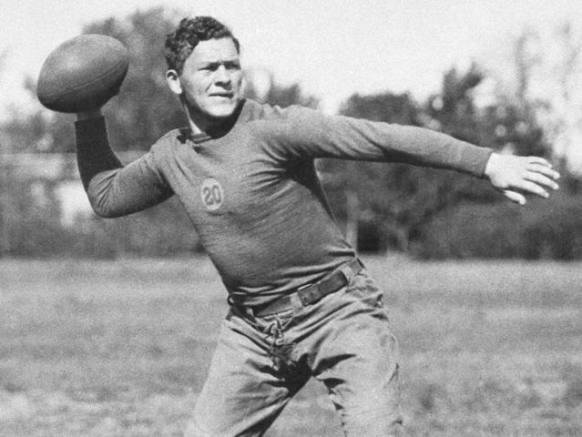 "Cal Hubbard, Don Hutson, Earl ""Curly"" Lambeau, and John ""Blood"" McNally were part of the first class"