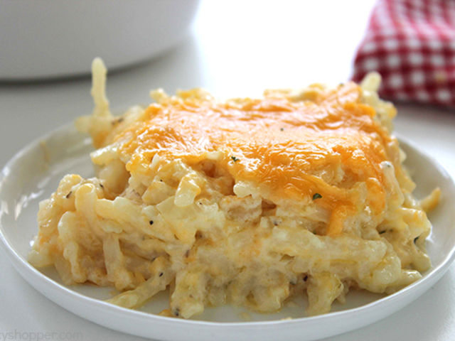 It was hashbrown casserole!