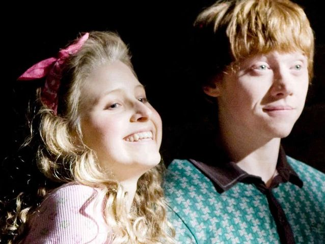 This is Lavender Brown! She dated Ron for a bit... It wasn't a great time.