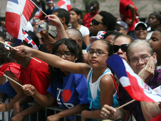 It was the 35th annual Dominican Day Parade.