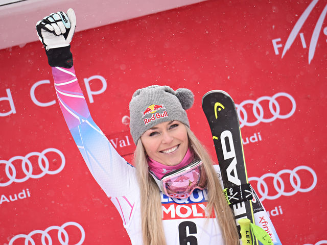 It's Olympic skier Lindsey Vonn!