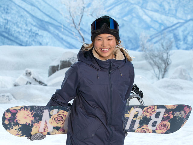 It's Olympic snowboarder Chloe Kim!