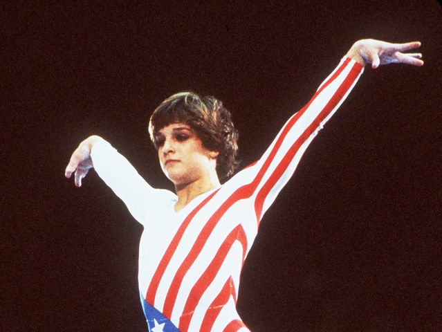 It's Olympic gymnast Mary Lou Retton!