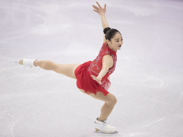 It's Olympic figure skater Mirai Negasu!