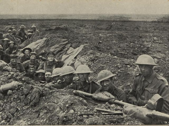 In which Western Front battle did Anzac troops play a crucial role in the second half of WWI?