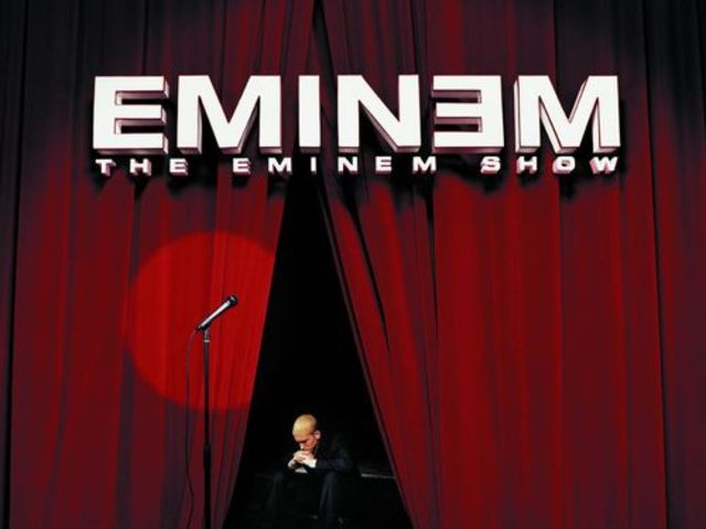 Eminem's The Eminem Show is the biggest selling album of the year.