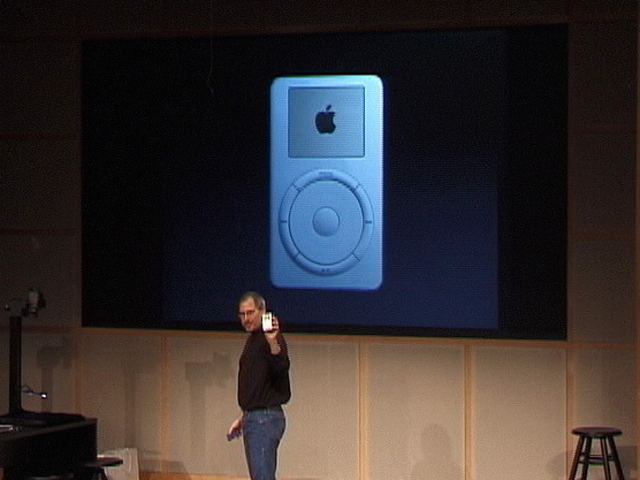 Apple rolled the first iPod in...
