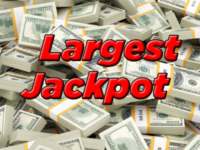 What is the largest U.S. jackpot in history?