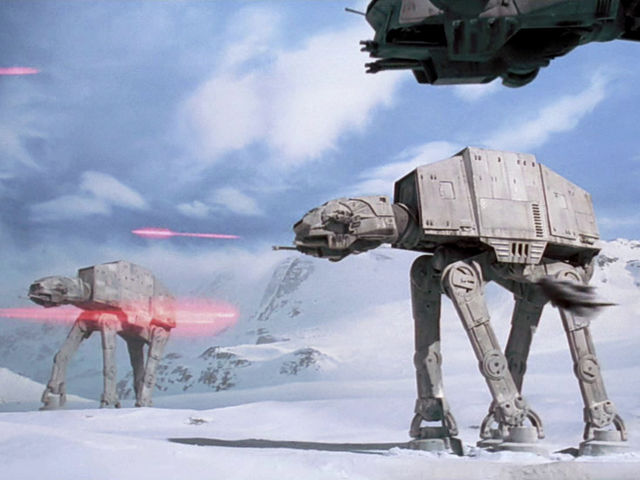 "What animal does Luke Skywalker ride in the start of ""The Empire Strikes Back""?"
