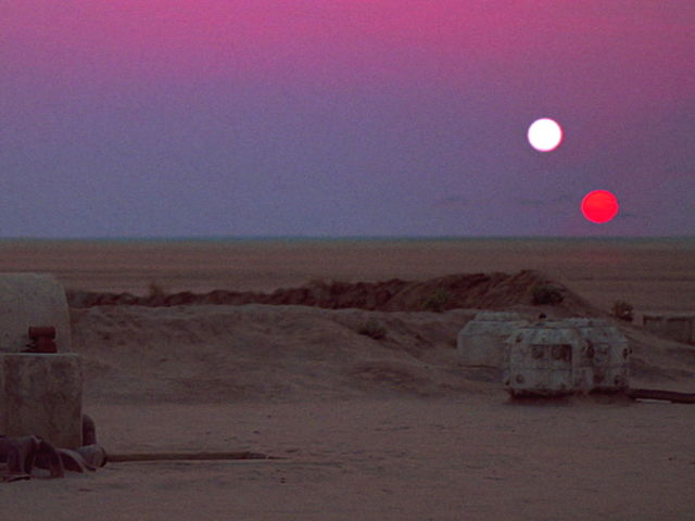 Same place he was born: Tatooine.