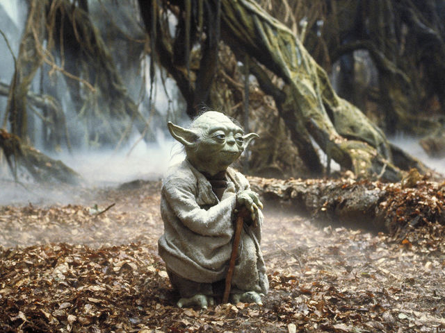Yoda lives on the planet of Dagobah!