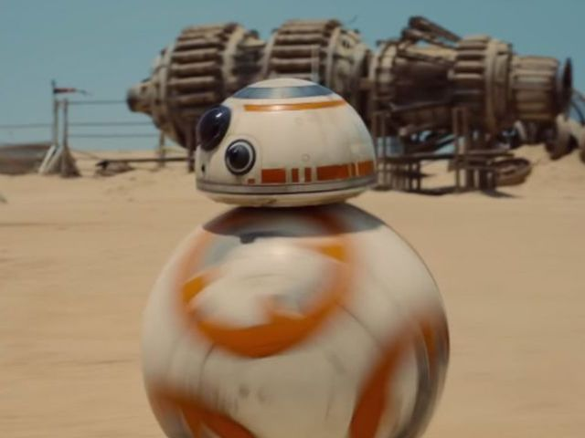 BB-8 is an astromech droid!