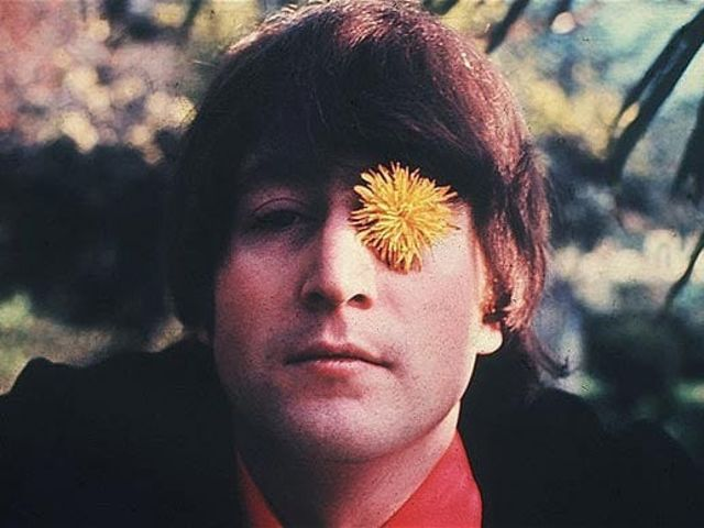 It's activist (and Beatle) John Lennon!