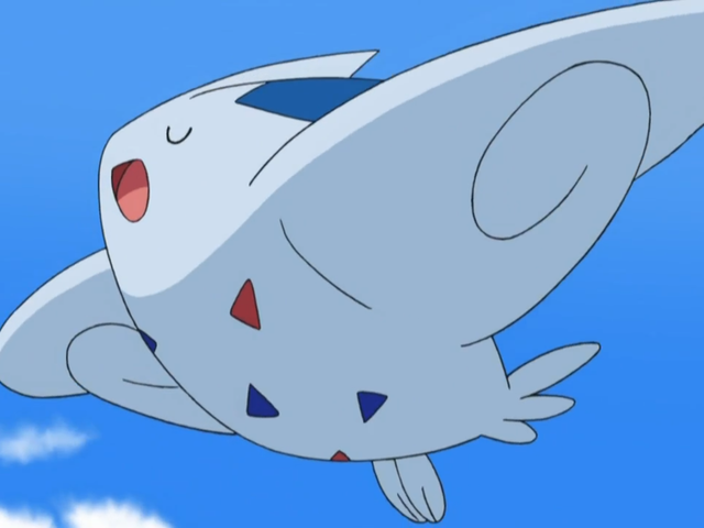 Togepi's final evolution is Togekiss!