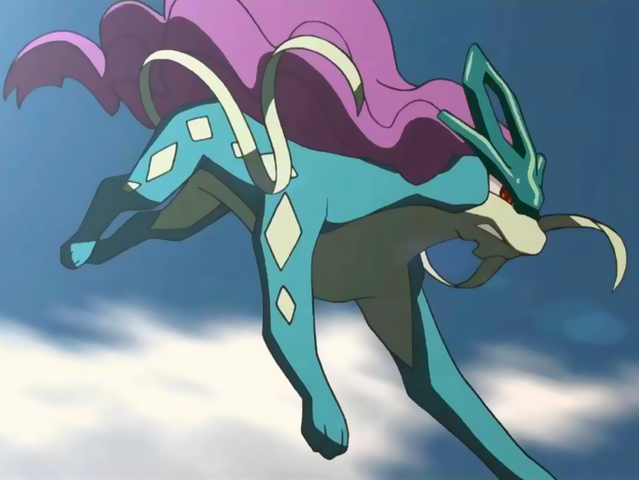 It's a Suicune!