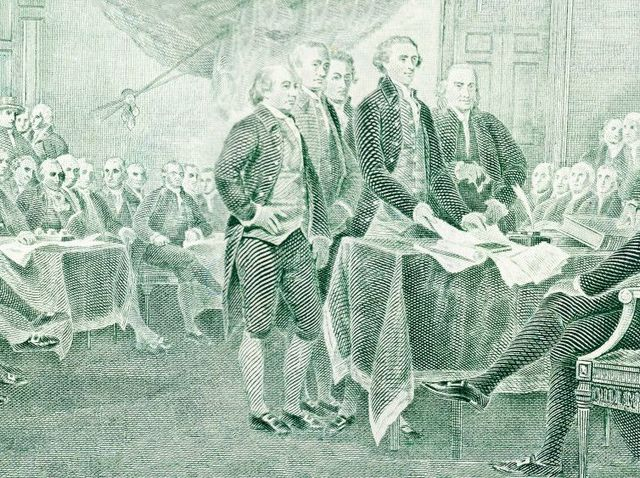 Who wrote the Declaration of Independence?