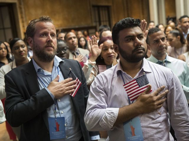 What is one promise you make when you become a United States citizen?