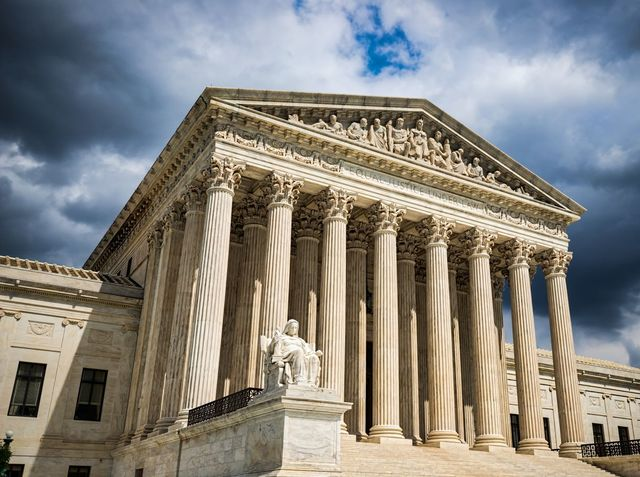 How many justices are on the Supreme Court?