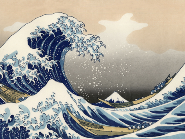 It's The Great Wave off Kanagawa!