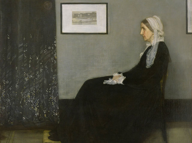 It's Arrangement in Grey and Black No.1, better known as Whistler's Mother!