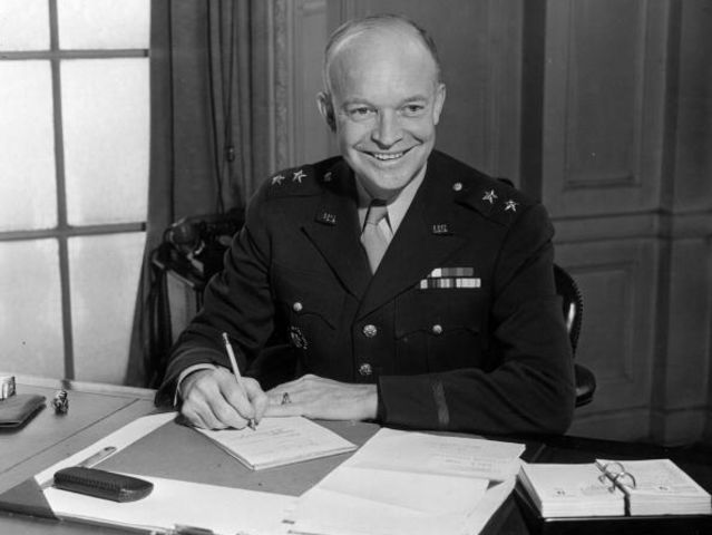 Dwight D. Eisenhower came from...
