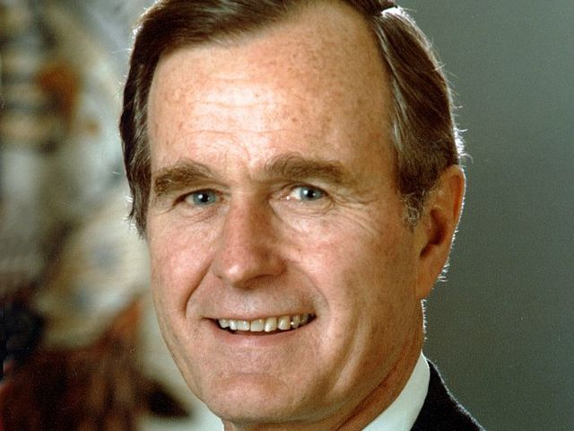 George H. W. Bush came from...