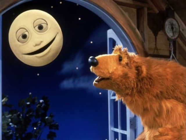 What is the name of the moon on the Big Blue House?