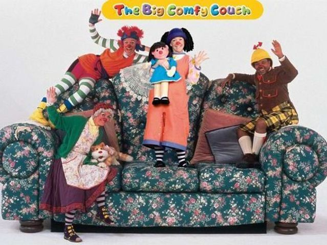 Who is the girl in Big Comfy Couch?