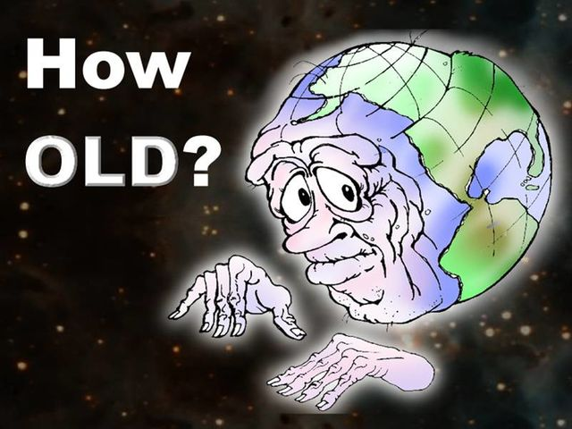 The Earth is estimated to be how old?