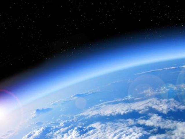 What percentage of the Earth's atmosphere is oxygen?