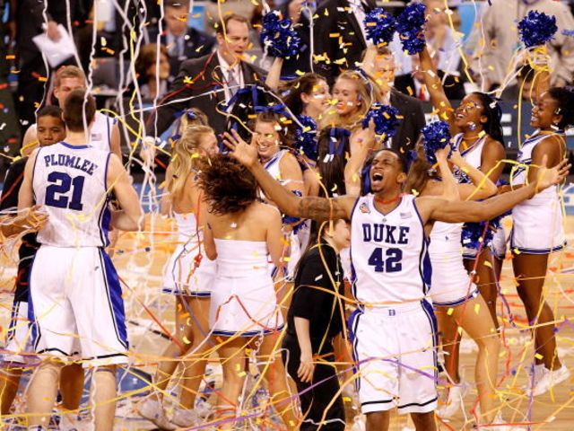 Duke leads the way with a .747 winning percentage in the NCAA tournament