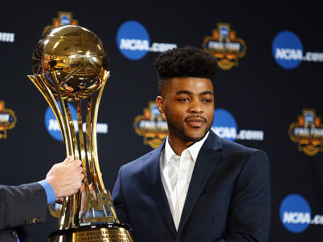 Frank Mason won Player of the Year last year in his Senior year at Kansas