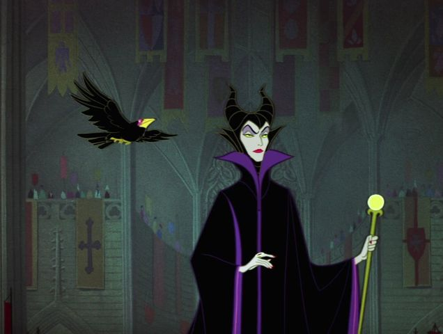 What did Maleficent call her raven?
