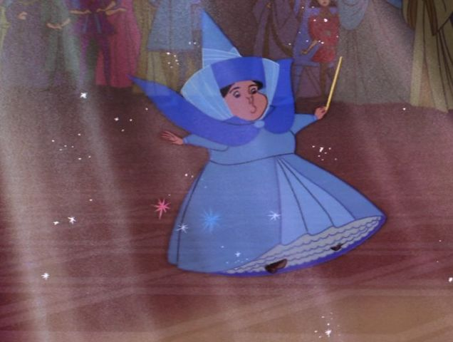 Who was the fairy in the blue dress?