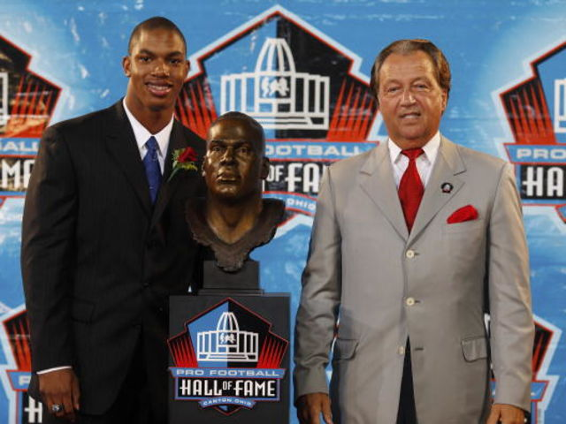 Chiefs legend Thomas entered the Hall of Fame in 2009.