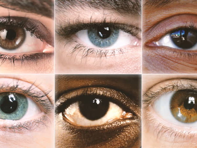 Let's start off with an easy question. What is your eye color?