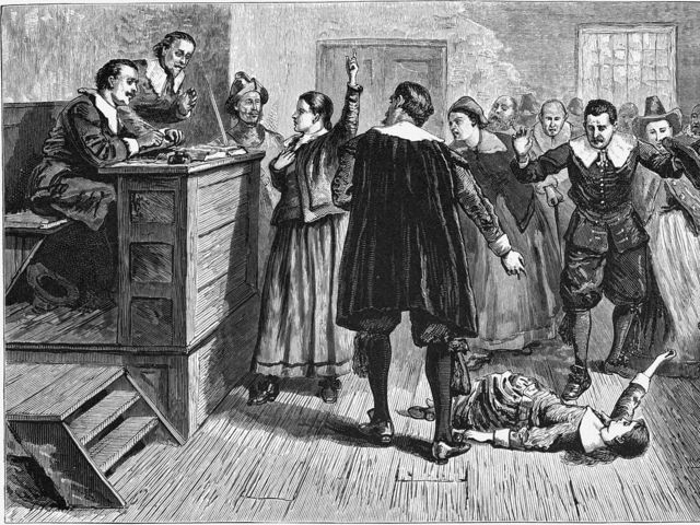 Basically, anyone in the Salem Witch Trials could accuse anyone else of being a witch, so if you were on anyone's bad side at all, you had better watch out.